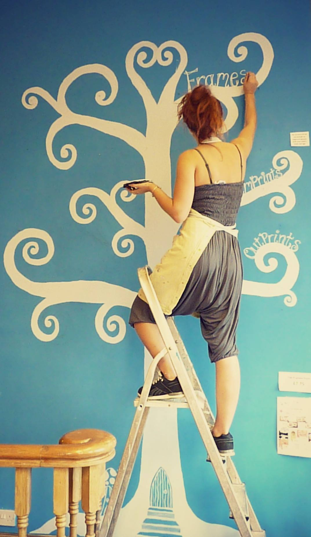 harriet lily artwork wall painting