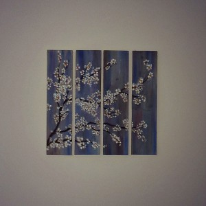 harriet lily artwork blossom planks